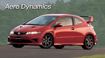 Mugen - Aerodynamics - Civic Type R Euro