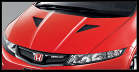 Mugen - Aerodynamics - Civic Type R Euro - Aero Bonnet