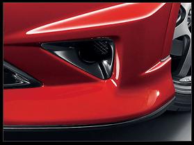 Mugen - Aerodynamics - Civic Type R Euro - Air Intake Garnish