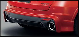Mugen - Aerodynamics - Civic Type R Euro - Rear Aero Bumper