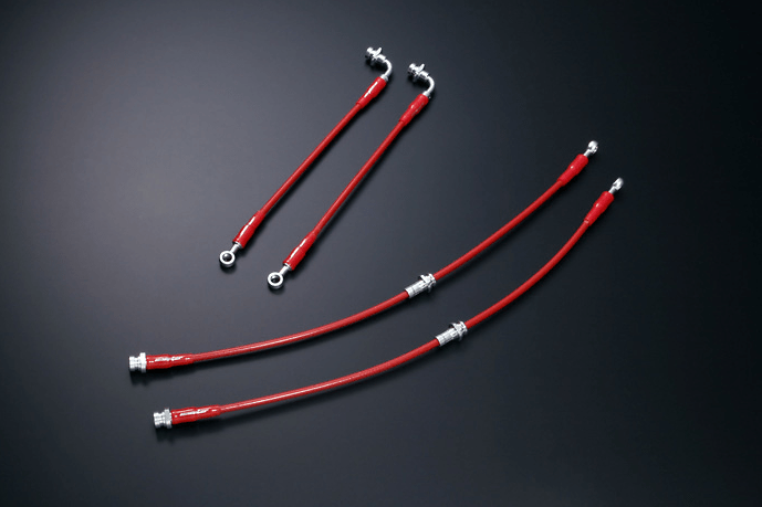Monster - Stainless Mesh Brake Line - Evo CT9A