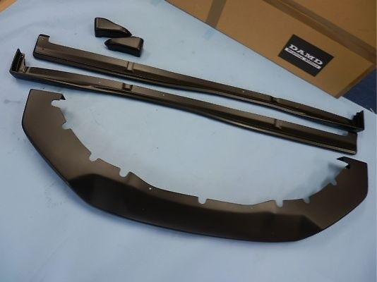 Complete Kit - Front Under Spoiler/Side Skirts/Rear Bumper Extension - Colour: Matte Black - Complet