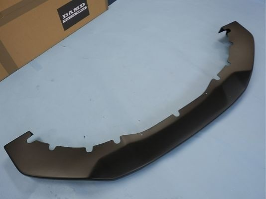Front Under Spoiler - 39mm Down - Construction: Urethane - Colour: Matte Black - Front Under Spoiler