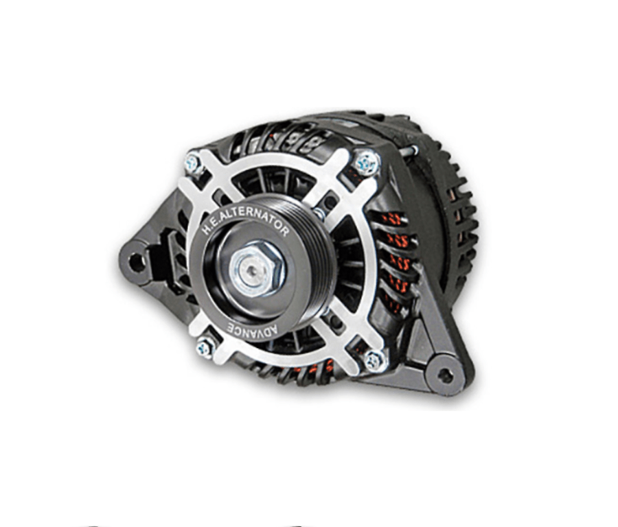 Color: Black - Pulley: Black - Pulley: Red - Output: 130Amp - RFD3-BA13
