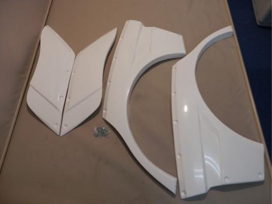 Rear Blister Fenders - FRP - 20mm each side - 004816