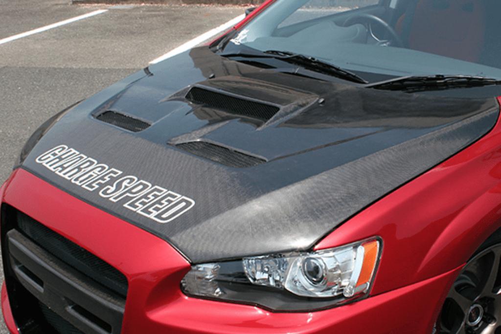 Bonnet - Type-2 with Duct - Construction: Carbon - 098405c