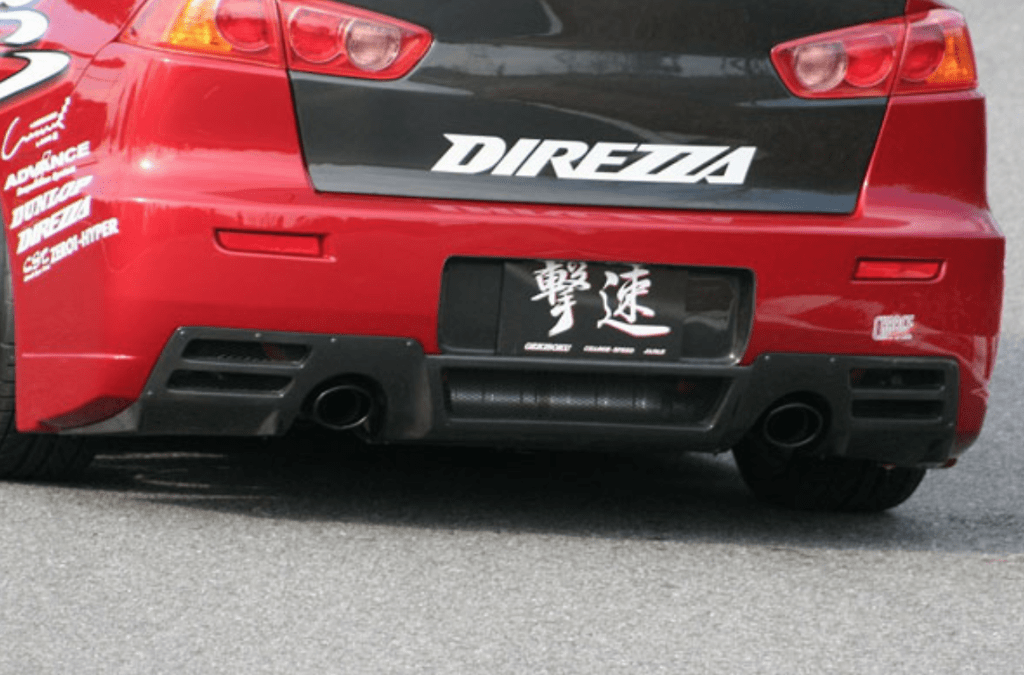 CS Rear Diffuser - for ChargeSpeed rear bumper - Construction: Carbon - 004218c