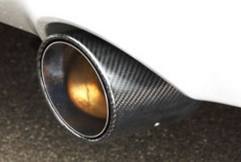 Nissan 370Z - Z34 CBA-Z34 VQ37VHR 2008.12- + Carbon Pipe 60.5 to 54.0mm (Tail 118mm Right & Left car