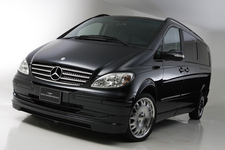Wald - Mercedes Benz Viano W639 Executive Line Aero Kit