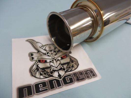 Type: Stainless Steel - Diameter: 114.3mm - Tail Diameter: 80mm - Pipe Diameter: 60mm - Length: 350m