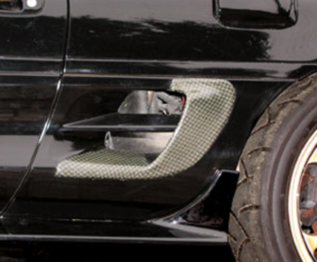 Side Inlet Covers - Construction: Carbon - AE.SI.SW20-K