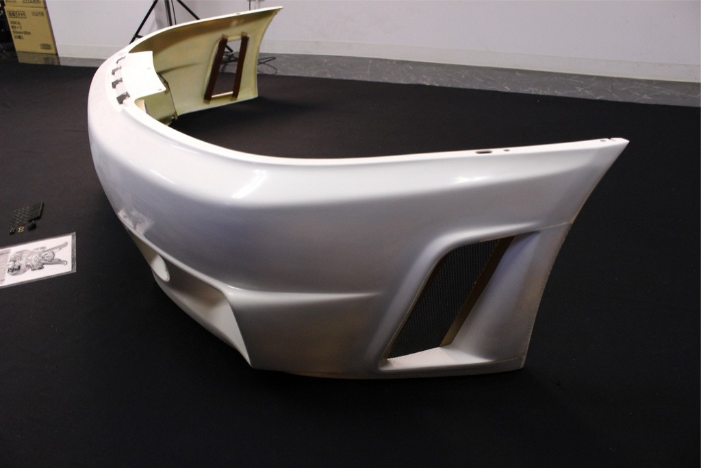 Front Bumper - Construction: FRP - Colour: Unpainted - 62022-RS596