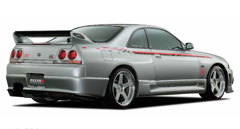 Rear Spoiler Set - Construction: Carbon - 98100-RS595