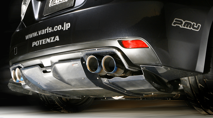 Varis - Extremor Body Kit - Subaru WRX GRB 09 Version - Rear Diffuser