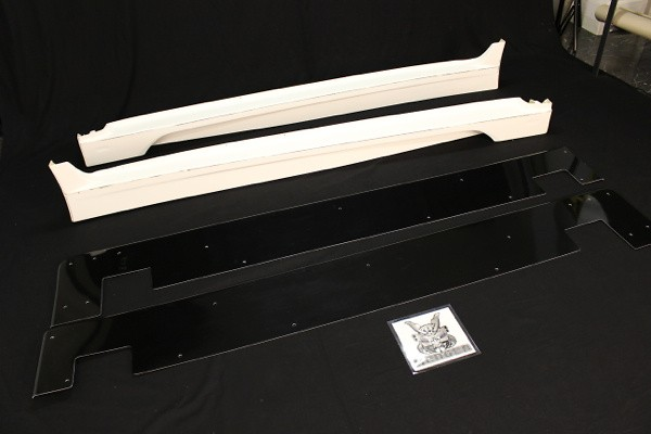 Side Skirts - FRP Underboard - VASU-088