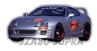 Toyota - Supra - JZA80 - Front Bumper - Front Bumper - JZA80