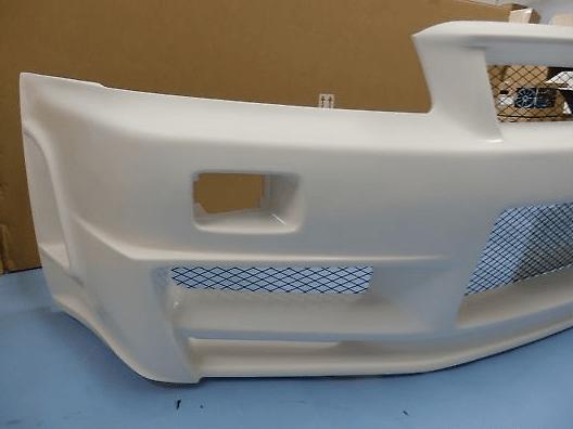Front Bumper Spoiler - Construction: FRP - 62020-RSR46-1