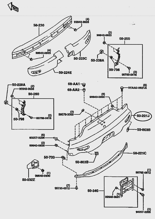 mazda miata body parts catalog