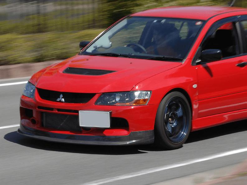 Deck Japan - Carbon Lip Spoiler - Evo