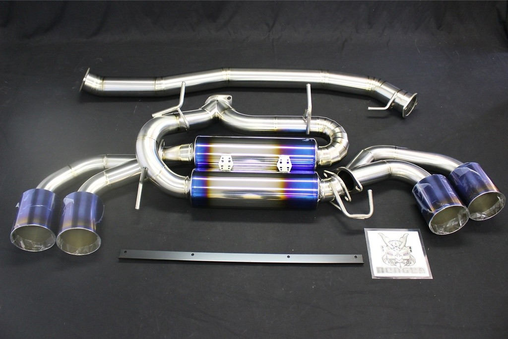 A body - B Tail - Gold Ring - Pieces: 2 - Pipe Size: 90mm - Weight: 10.65kg - R1 Titan R35