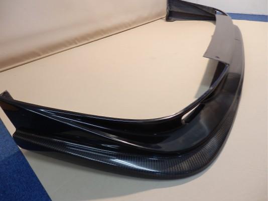 VASU-001 - Subaru - Imprezza STi - GDB - A/B - Front Lip Spoiler FRP with Carbon Lip