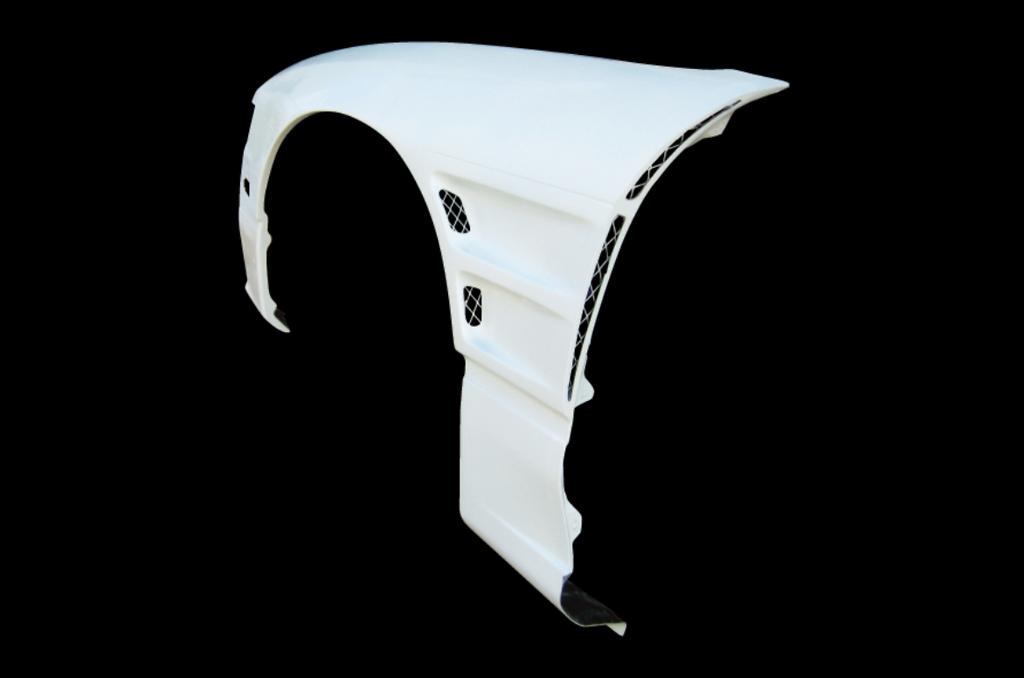 Material: FRP - Width: +40mm - 180SX-40-SET