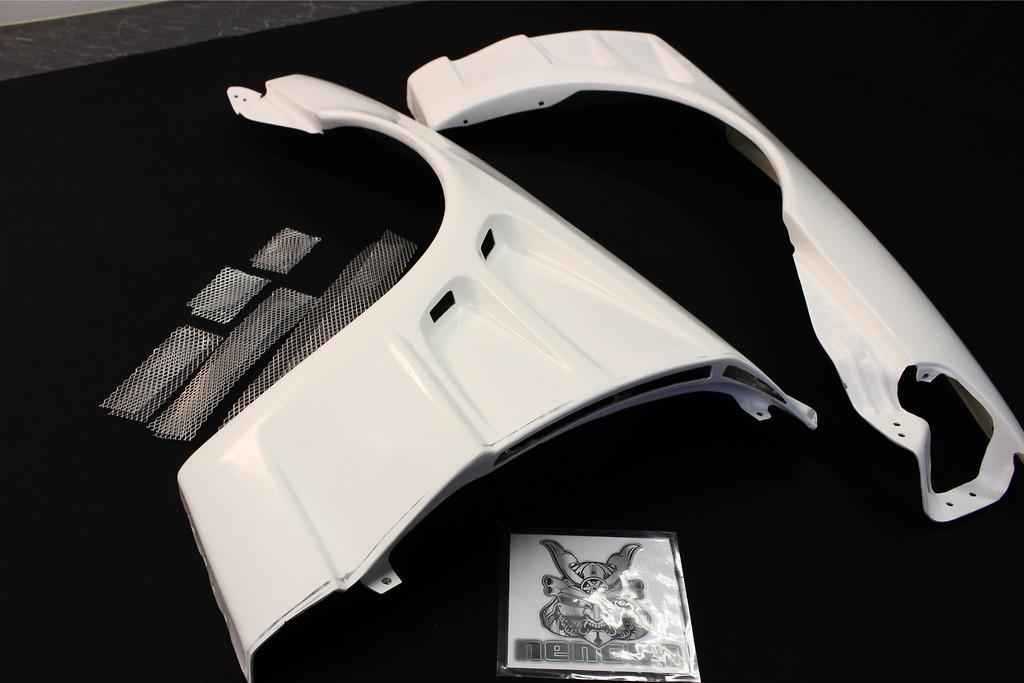 Material: FRP - Width: +30mm - R32-30-SET