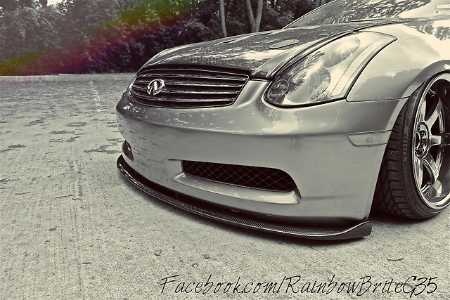 Type GT - V35 - Carbon Front Lip