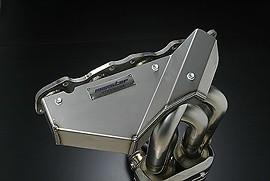 Twin Catalyst EX Header w/ Ti Plate