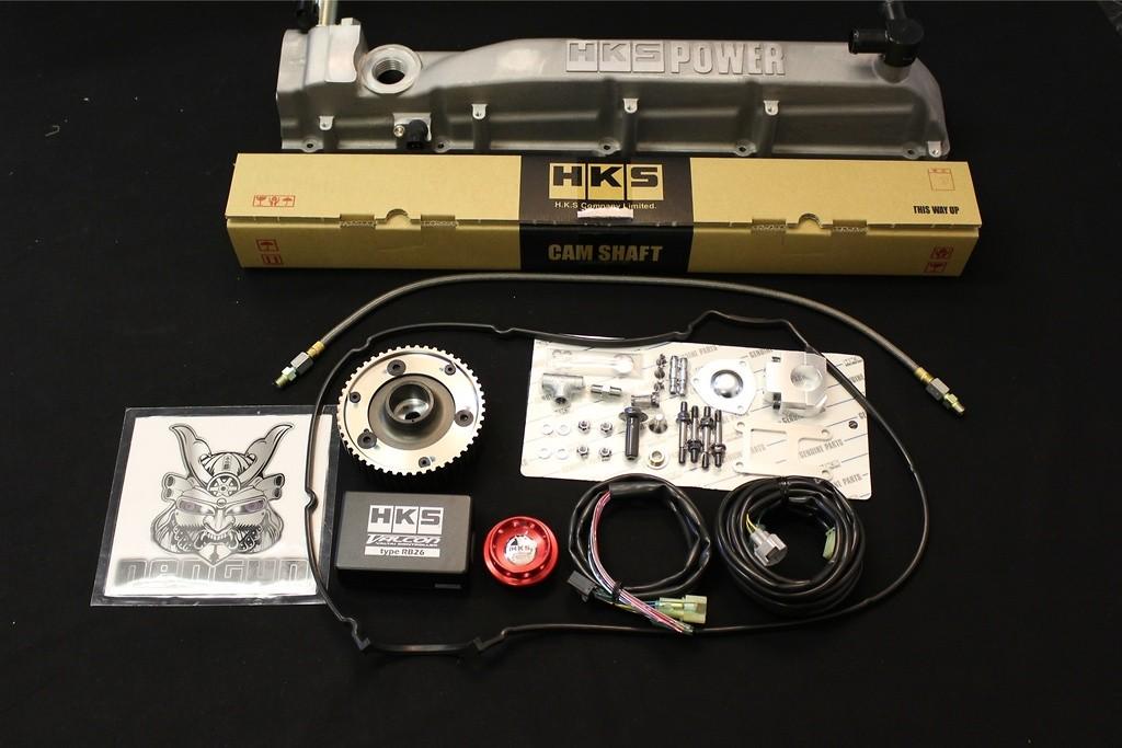 22007-AN017 - V cam system Step 1 Intake camshaft 248 Deg, Cam gear intake, Head Cover intake, VALCO