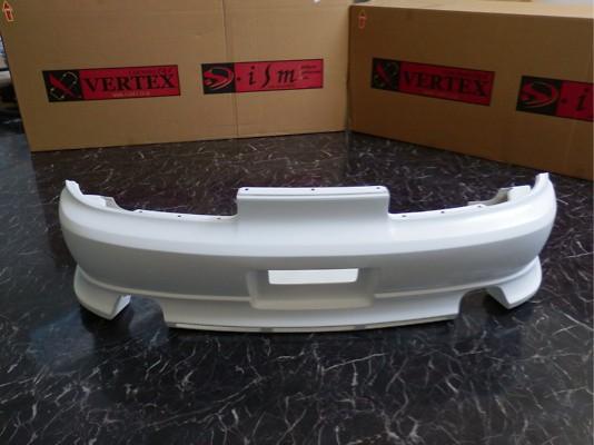 VR - Rear Bumper - Toyota - Soarer - JZZ/UZZ/30/31 - Rear Bumper Spoiler