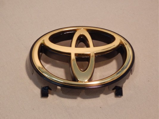 Front Emblem - Gold