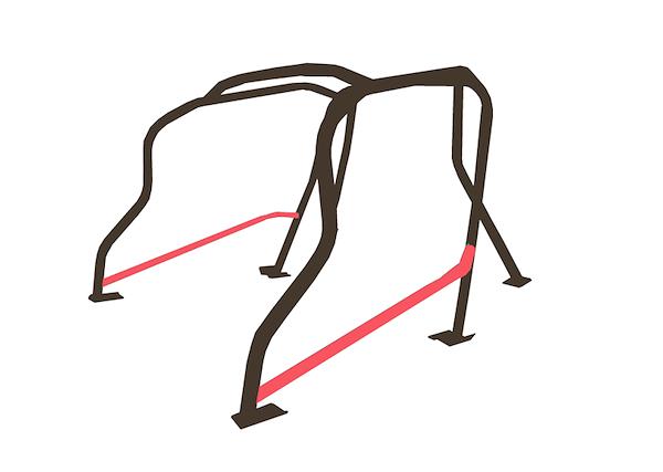 Material: Steel - Side Bar Kit