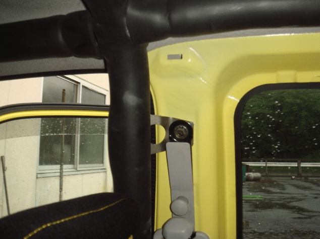 Material: Steel - B Pillar Closure