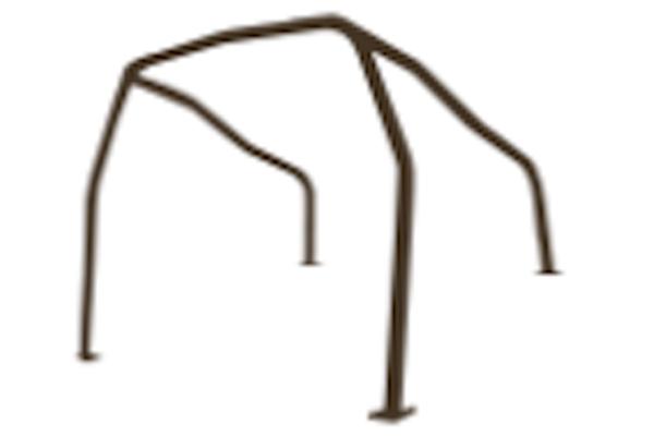 Point: 4 - Shape: Through Trunk - Material: Steel - SRC-DC2-4P