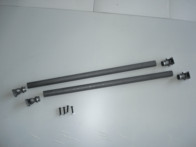 Universal Type - Material: Steel - Side Bar Kit