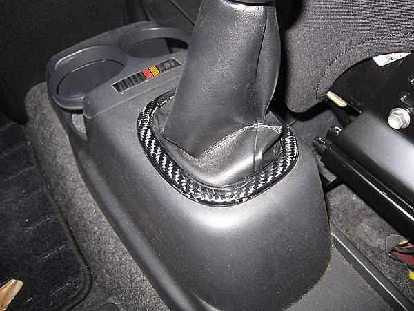 R's Racing Service - Colt Interior Parts - Real Carbon Shift Ring