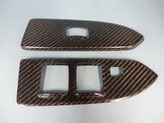 CoB-303 - Mitsubishi - Colt ver. R - Z27AG - RRP Real Carbon Door Switch Set (Right and Left doors)