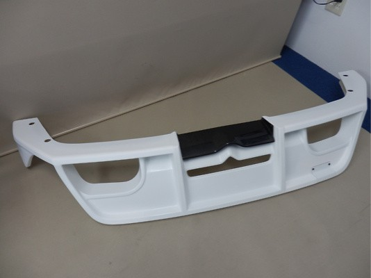 Rear Bumper Spoiler - Colour: Non-painted - MS343-18002-00