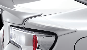 Rear Side Spoiler Set - Construction: PPE Resin - Colour: Satin White Pearl (37J) - MS315-18002-A0