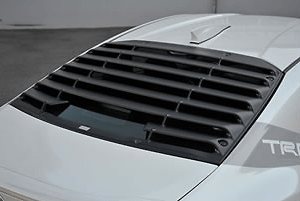 Rear Window Louvers - Can not install with MS346-18001 - Construction: AES Resin - Colour: Non-painted - MS317-18001
