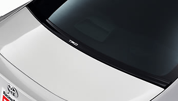 Aero Stabilizing Cover - Can't be installed with Rear Window Louver - Construction: PPE Resin - Colour: Black - MS346-18001