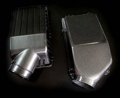 M and M Honda - Super Carbon Air Box & Aero Intake Duct