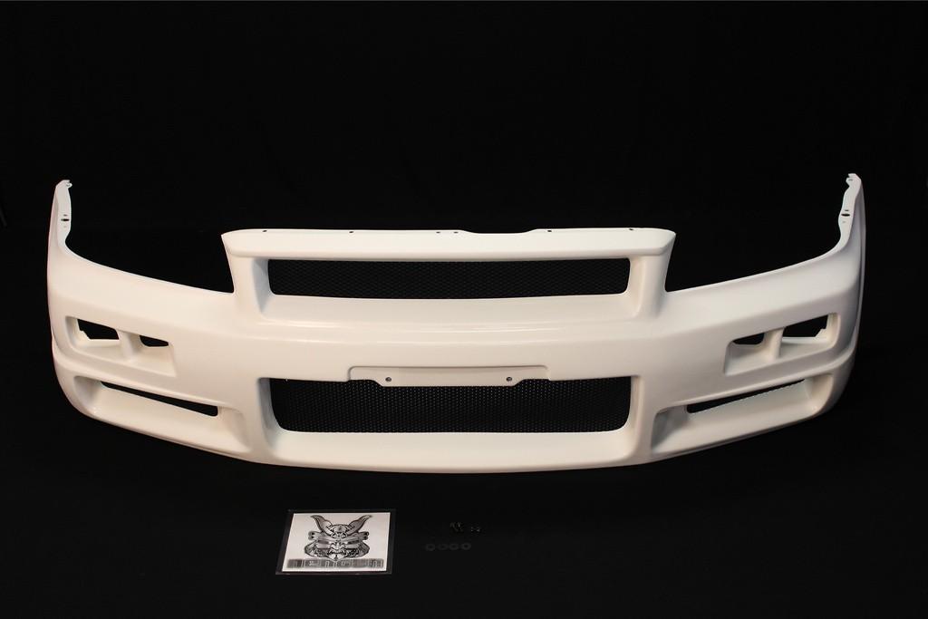 Front Bumper - Construction: FRP - Colour: Unpainted - 62020-RSR45