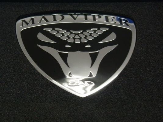 1 X Emblem - D.A.D EMBLEM TYPE MAD VIPER