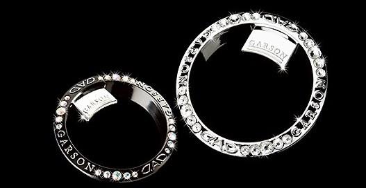 Garson - Luxury 2 way table Ring