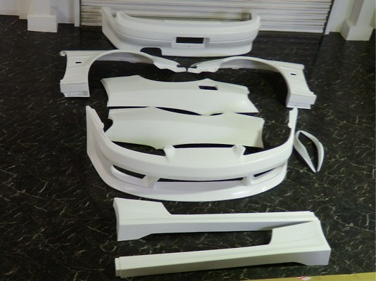 6 Piece Kit (Front/Side/Rear/Front Fenders/Rear Fenders/Front Canard) - S15