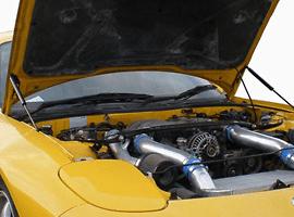 GReddy - Engine Hood Lifter - FD3S