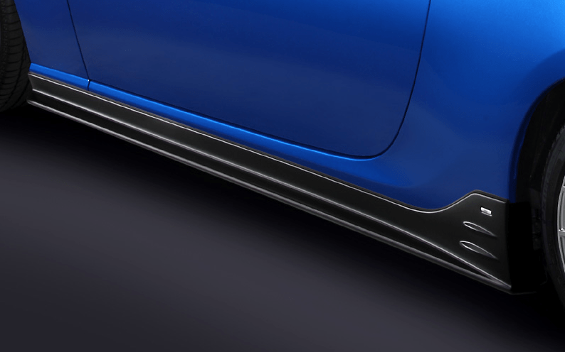Side Under Spoiler - Colour: Semi-gloss Black - ST96030AS020