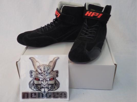 HPI Racing Shoes Black 44 - HPCGS0144